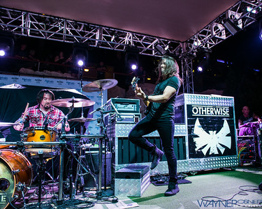 Otherwise performs poolside at the Hard Rock Hotel