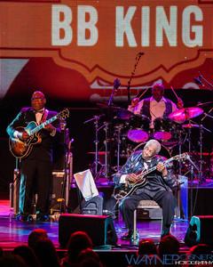 BB King with Peter Frampton's Guitar Circus