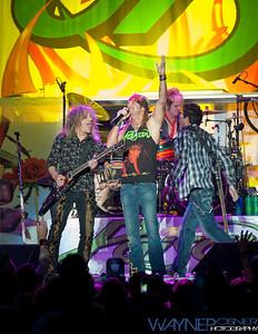 Poison—Rikki Rockett, CC DeVille, Bobby Dall and Brett Michaels