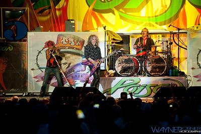 Poison—Rikki Rockett, CC DeVille, and Brett Michaels