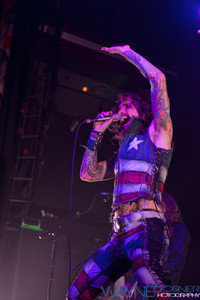 The Darkness performs at The House of Blues in Las Vegas