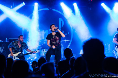 Trapt performs at Vinyl inside the Hard Rock Hotel in Las Vegas, NV