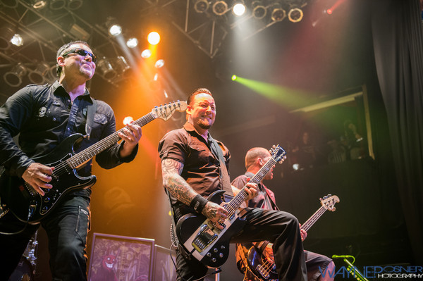 Volbeat performs at the House of Blues in Mandalay Bay