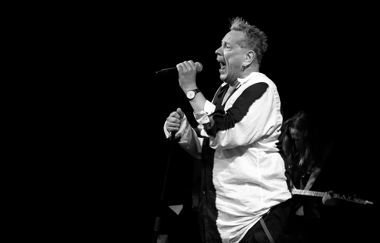 John Lydon of Public Image Ltd. Ybor City/Tampa, FL