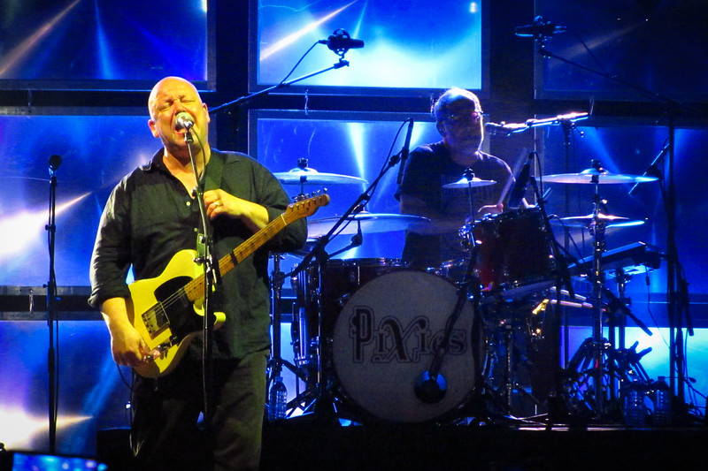The Pixies - Black Francis and Dave Lovering on drums