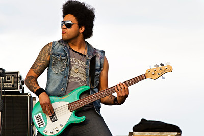 Marcelo Bakos, doing his Lenny Kravitz impersonation.
