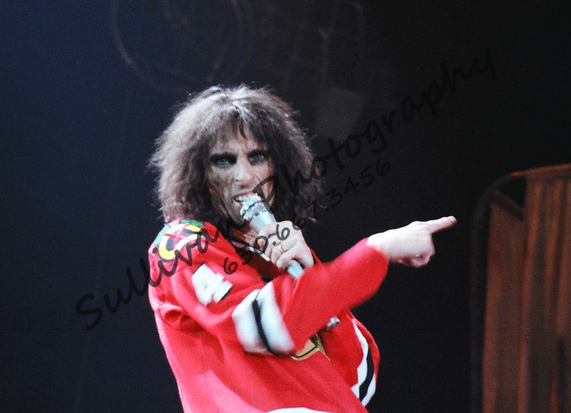 Alice Cooper in Chicago. This was his 'From the inside looking out' concert tour
