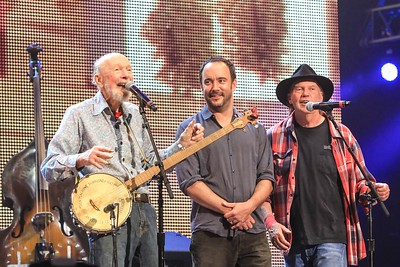 Pete Seeger, Dave Matthews and Neil Young