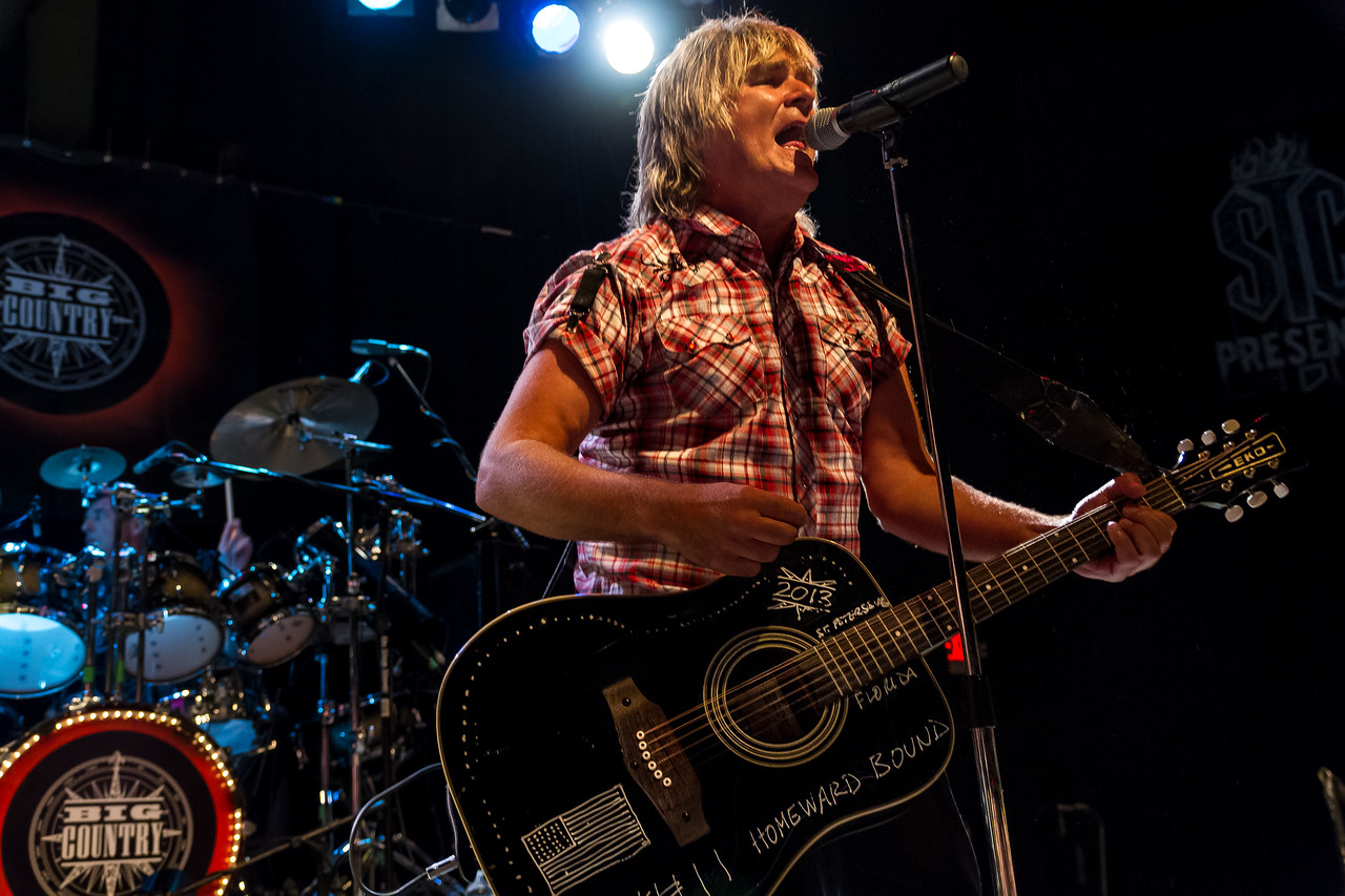 Mike Peters of Big Country State Theatre - St. Petersburg, Florida August 30th, 2013