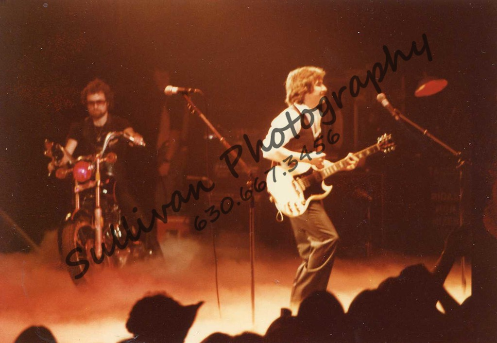 Blue Oyster Cult. I believe this was one of the last concerts that indoor flash pots and pyro technics was allowed.