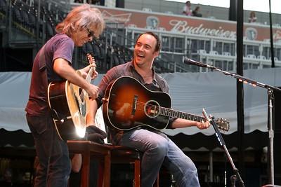 Dave Matthews and Tim Reynolds