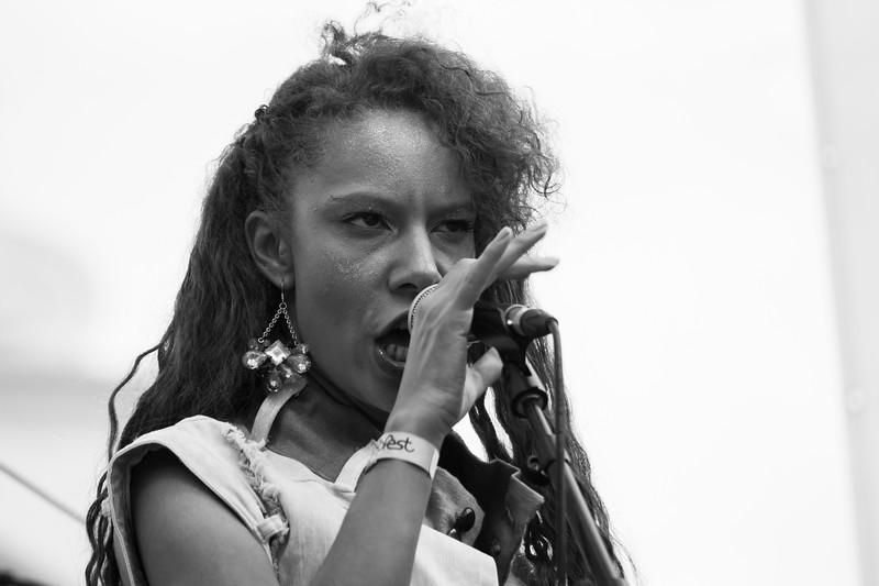 Aisha E @ Popfest Wien 2015