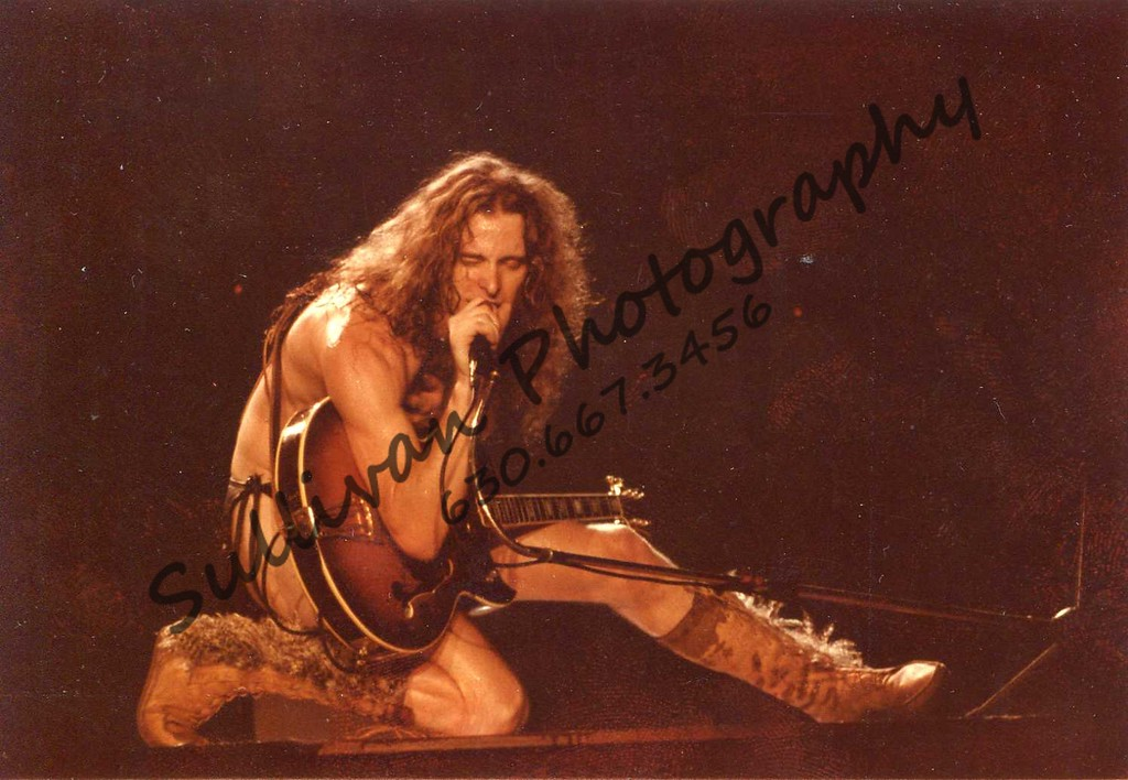 Ted Nugent. He's almost naked.