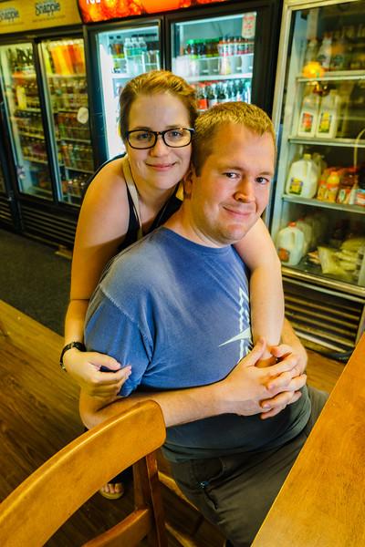 Brian and Jenn in Heaven