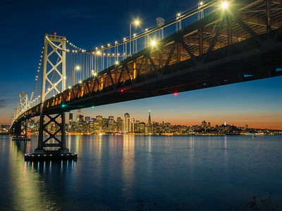 Still Night under the Bay Bridge