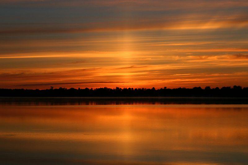 Ice lake, Ontario @ 5:30 am  (July, 2004)