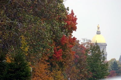 A Fall Day - University of Notre Dame