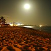 Beach at night in Cabo San Lucus