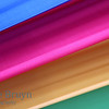 Blue red yellow and green stripes in vibrant color smooth and silky material