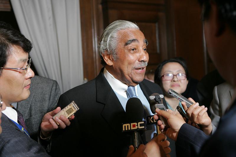 US Congressman, Charles Rangel