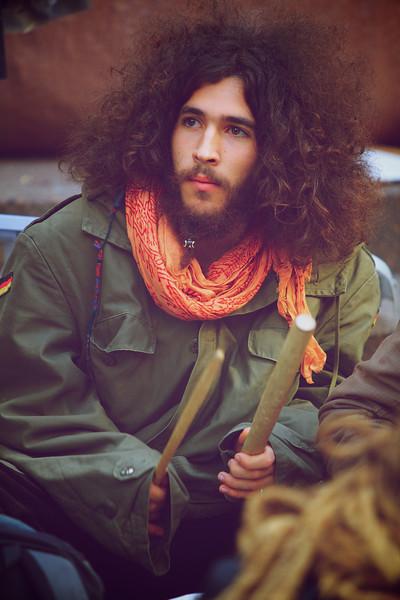 """Demonstrator at ""Occupy Wallstreet"""""
