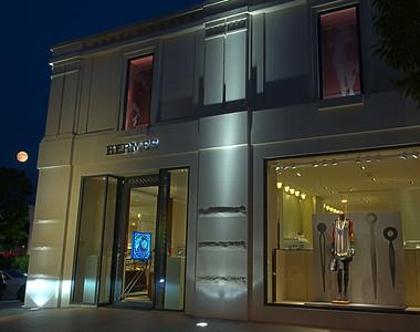 Hermes Store Window  - Americana Manhasset -8-30-12
