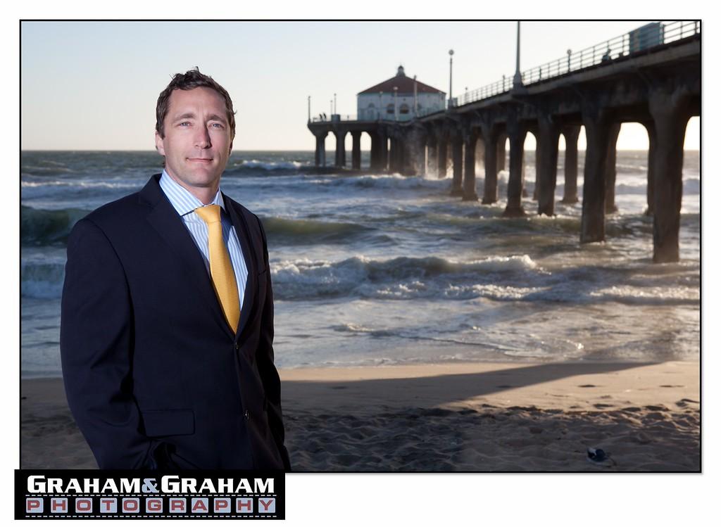 Executive portraits in Manhattan Beach
