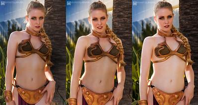 Slave Leia Triple
