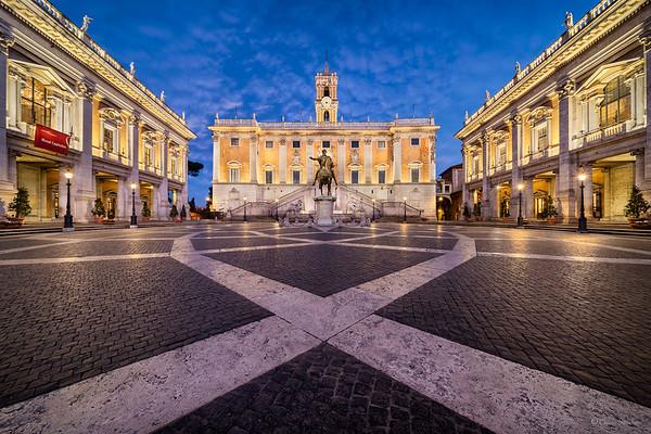 Capitoline Hill || Colina Capitolina