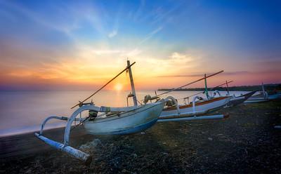 dec_Lombok fishing boats