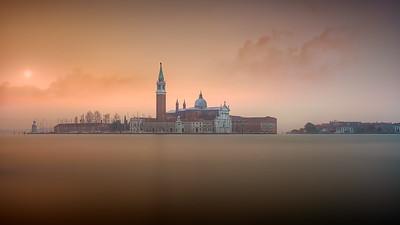 Venice pink sunrise 7R24701