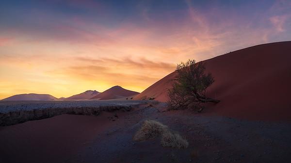 At sunrise 7R48833