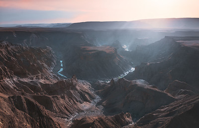One of the meanders in the Fish River canyon 7R46534P