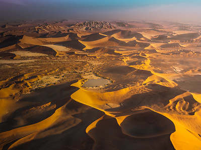 Sossusvlei from the helicopter A734101