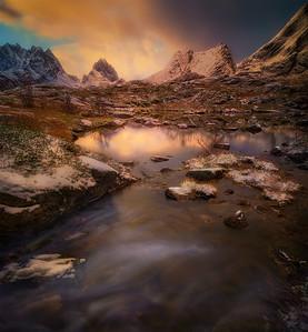 Light in the little creek