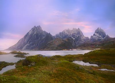 Lofoten Peace in the Fjord