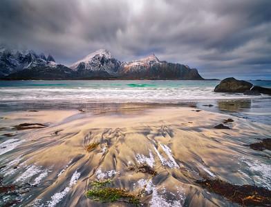 Lofoten Winter Artic Light