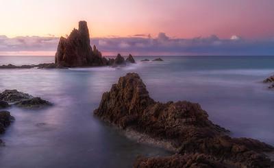 Almeria mermaid reef_arrecife de las sirenas sunrise DSC0335