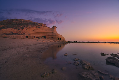 Andalucia last lights in Cocederos beach 7R25288