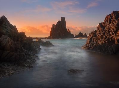 Andalucia Sirens Reef sunrise 7R24539