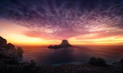 Ibiza spectacular sunset A736230