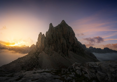 Last lights in the peaks A733672