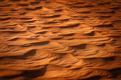 Rub Al Khali paterns in the sand 7R41343