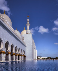 Details of the Sheikh Zayed Mosque A739375