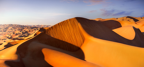 Dune and dunes before sunset A739506P