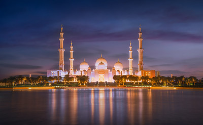 Blue hour in the Mosque 7R40946