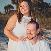 Wife and Husband, Family Session on St. Pete Beach
