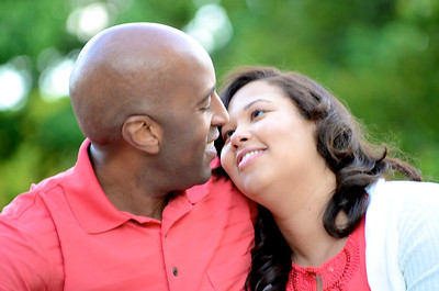 Lamounte & Kamarrie Engagement Photos by LeVern Danley III