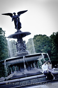 Central Park Engagement Session By Alex Kaplan, Photographer www.AlexKaplanPhoto.com