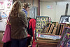 Visitors were treated to a vibrant scene during another installment of the $20 Art Show at Clifton Art Supply on Frankfort Avenue.